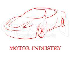 Motor Industry Shows Passenger Car And Auto