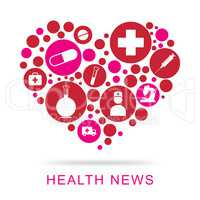 Health News Shows Social Media And Article