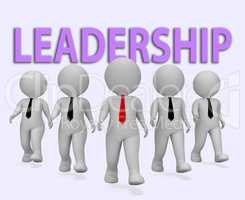 Leadership Businessmen Indicates Control Entrepreneur And Commer
