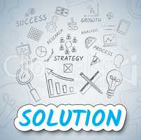 Solution Ideas Means Solve Planning And Consider