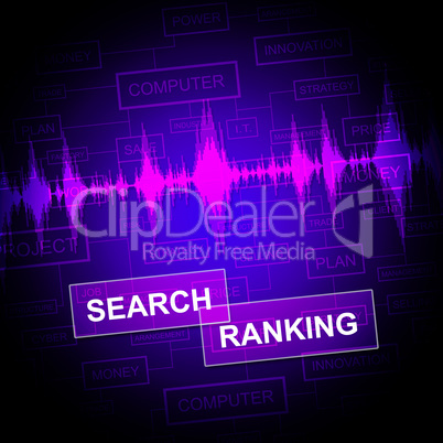 Search Ranking Represents Gathering Data And Analysis