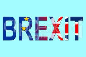 Brexit Word Shows England Euroscepticism And Britain Decision