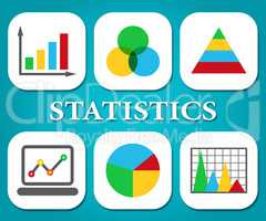 Statistics Charts Represents Graph Graphs And Infochart