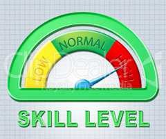 High Skill Level Means Measurement Abilities And Max