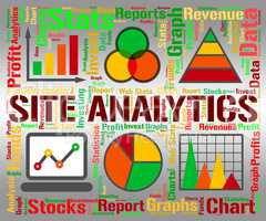 Site Analytics Indicates Infochart Chart And Web