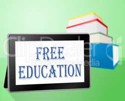 Free Education Shows Without Charge And Books