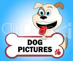 Dog Pictures Represents Doggie Image And Pedigree