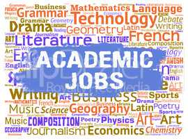 Academic Jobs Means Tutoring Learned And Training