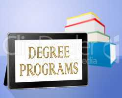 Degree Programs Represents Books Bachelor's And Internet