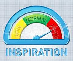 High Inspiration Means Stimulate Display And Galvanize