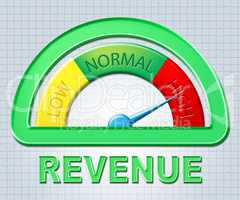 High Revenue Indicates Gauge Profit And Excess