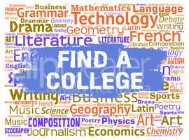 Find College Means Search Out And Colleges