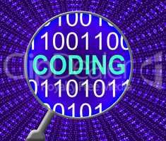 Data Coding Shows Database Cryptology And Monitor
