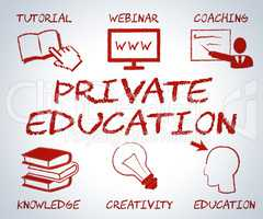 Private Education Represents Non State And Learning