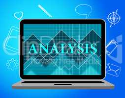 Analysis Online Represents Web Site And Data