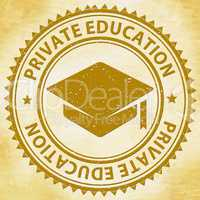 Private Education Means Non Government And School