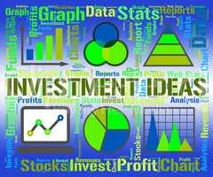 Investment Ideas Shows Shares Invention And Stock