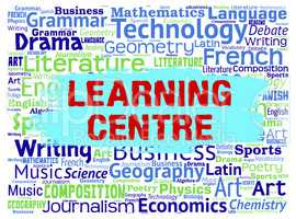 Learning Centre Represents University Educating And Word