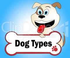Dog Types Represents Puppy Sorts And Breeds