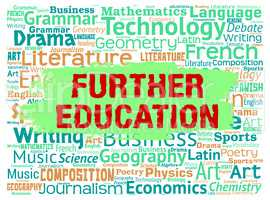 Further Education Represents Educating University And Learning