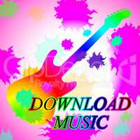 Download Music Indicates Sound Track And Audio