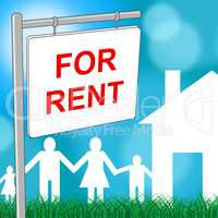 For Rent Means Template Household And Houses