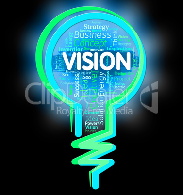 Vision Lightbulb Shows Aspire Planning And Missions