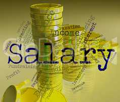 Salary Word Means Wage Pay And Words