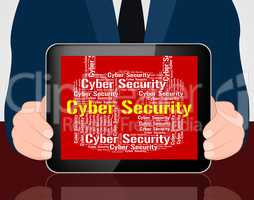 Cyber Security Indicates World Wide Web And Protect