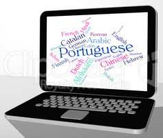 Portuguese Language Means Foreign Portugal And Speech
