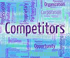 Competitors Word Shows Opponent Wordclouds And Opposition
