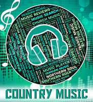 Country Music Shows Sound Track And Audio