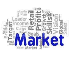 Market Word Means Sales Markets And Words