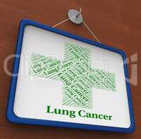 Lung Cancer Indicates Malignant Growth And Ailment