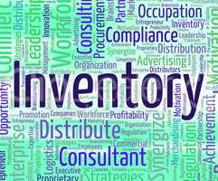 Inventory Word Shows Logistic Wordclouds And Supply