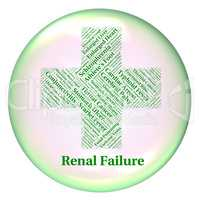 Renal Failure Shows Lack Of Success And Complaint