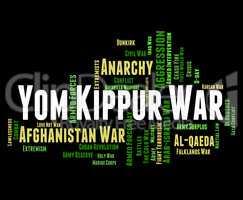 Yom Kippur War Shows Arab States And Israeli