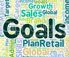 Goals Word Means Targeting Aims And Words