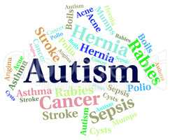 Autism Word Means Ill Health And Ailment