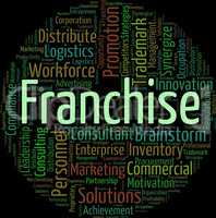 Franchise Word Means Text Concession And Privilege