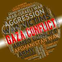 Armed Conflict Represents Gaza Governorate And Bloodshed