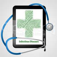 Infectious Diseases Shows Poor Health And Affliction