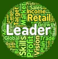 Leader Word Means Influence Text And Command