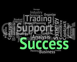 Success Word Means Resolution Winner And Win