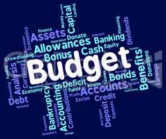Budget Words Indicates Budgets Accounting And Costing