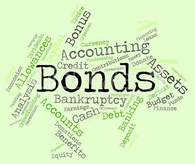 Bonds Word Indicates Bank Loan And Advance