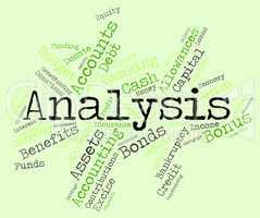 Analysis Word Means Data Analytics And Analyse