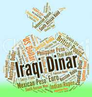 Iraqi Dinar Means Foreign Exchange And Currencies