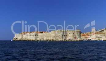 Dubrovnik old city on the Adriatic Sea, South Dalmatia region, Croatia