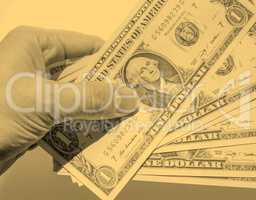 Dollar notes - vintage